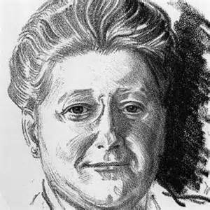 Amy Lowell sketch (Pinterest)