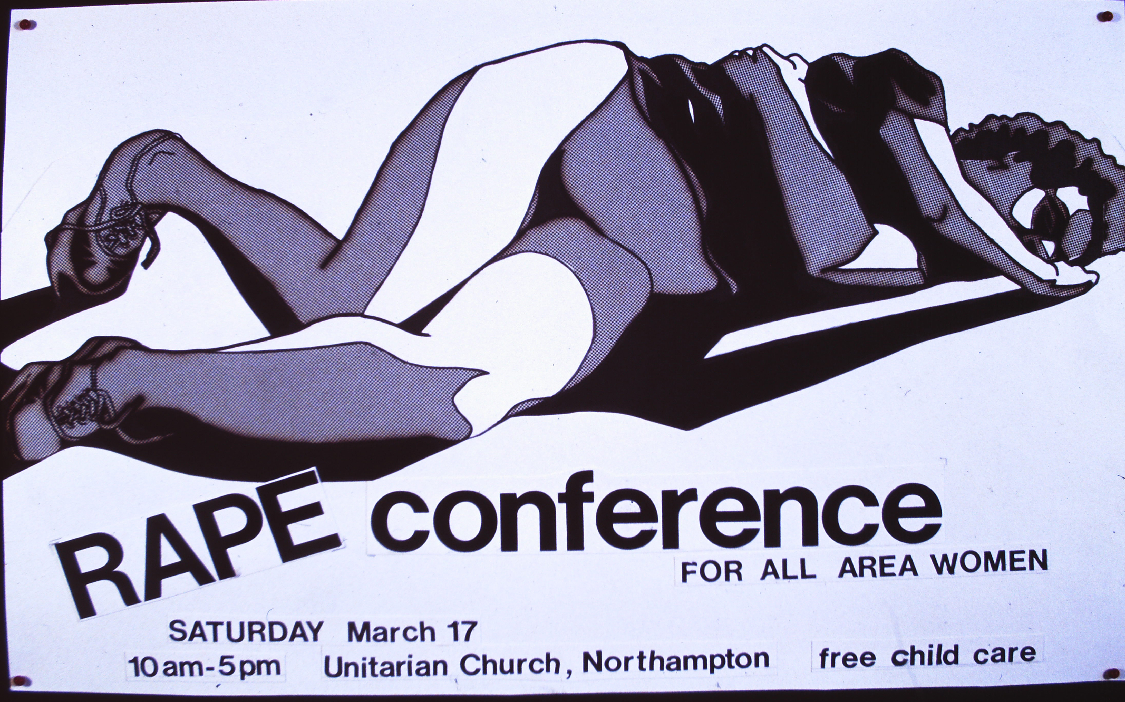 rape conference poster by me